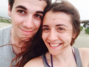 Webandsun Antoine et Sophie sur la plage